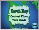 Earth Day Context Clues Task Cards