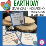 Earth Day Conversation Starters and Writing Prompts
