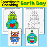Earth Day Math Coordinate Graphing Mystery Pictures - Plotting Ordered Pairs