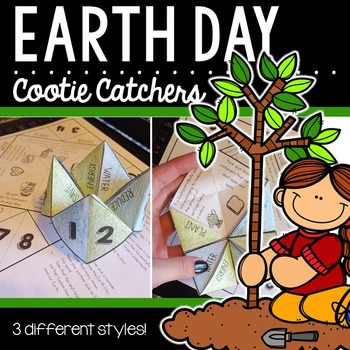 Earth Day Cootie Catchers