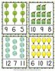 Earth Day Count and Clip Cards Numbers 1-12