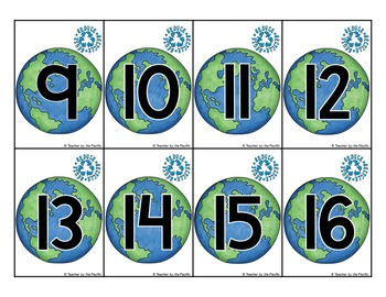 Earth Day Count the Room and Count On