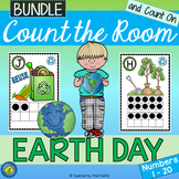 Earth Day Math: Count the Room and Count On {1-20 BUNDLE}