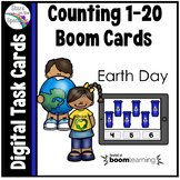 Earth Day Counting 1 - 20 Boom Cards