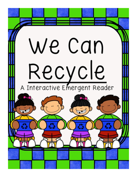Earth Day Recycle Counting Emergent Reader