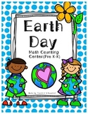 Earth Day- Counting Math Center