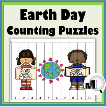 Earth Day Math - Number Puzzles