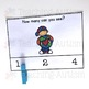 Earth Day Counting Task Cards, Math Activity
