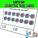 Earth Day Math Activity, Counting Task Cards