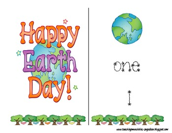 Earth Day Counting & Writing