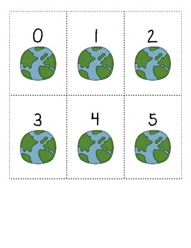 Earth Day Counting by 1s, 5s, and 10s