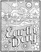 Earth Day Countryside Mural