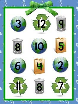 Earth Day Math Free