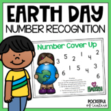 Earth Day Cover Up - Number Recognition Game