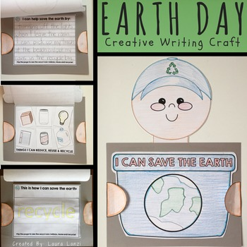 Earth Day Craft: Differentiated For Writers and Pre- Writers