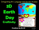 3D Earth Day. ::  Earth Day Activities  ::  Earth Day Unit