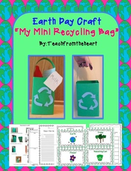 Earth Day Craft (A recycling bag!)
