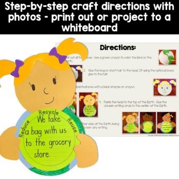 Earth Day Craft Activity
