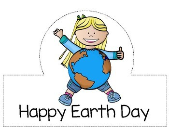 Earth Day Activities, Earth Day Craft Hats/Crowns