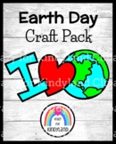 Earth Day Craft for Kindergarten: I Love the Earth (Spring Weather)