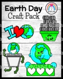 Earth Day Craft Pack: Love, Protect, Recycle for a Happy Planet, Counting Cans