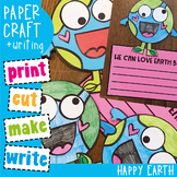Earth Day Craft + Writing - Happy Earth