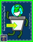 Earth Day Craft and Drawing: Recycle for a Happy Planet (Spring Weather)