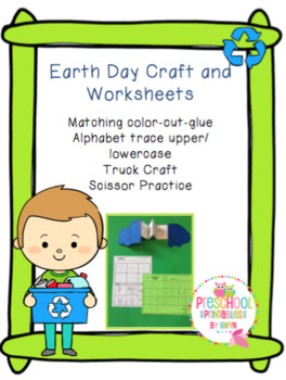 Earth Day Craft and Worksheets