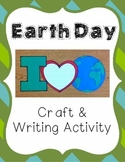 Earth Day Craft and Writing Activity