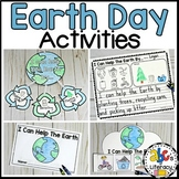 Earth Day Activities (Earth Day Craft, Writing Prompt, Rea