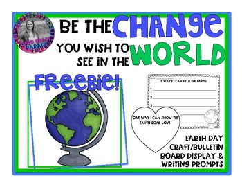 Earth Day Craft and Writing Prompts