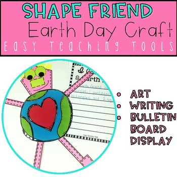 Earth Day Craft for Geometry