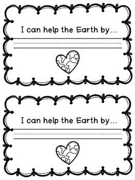 Earth Day Craft with Writing Prompt : Earth Day Activities : Spring Crafts