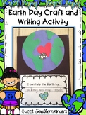 Earth Day Craft with Writing Prompt : Earth Day Activities