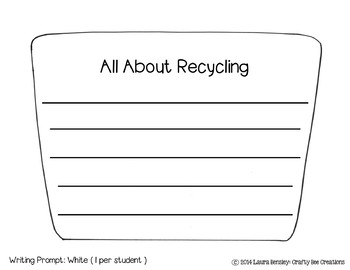 Earth Day & Recycling Craftivity