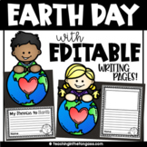 Earth Day Craft Activity (Earth Day Writing | Earth Day Ac