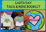 Earth Day Craftivity Booklet Writing planet Flipbook