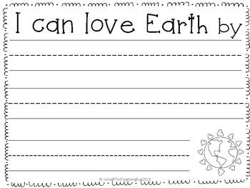 Earth Day Craftivity-Freebie