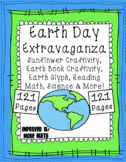 Earth Day Reading Passages, TDQs, Math, Science, Craftivities, Glyphs, & More}