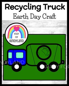 Earth Day Craft: Recycling Truck Craft (Spring Weather)