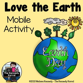 Earth Day Mobile Craftivity