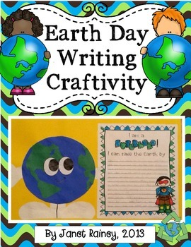 Earth Day Craftivity and Printables