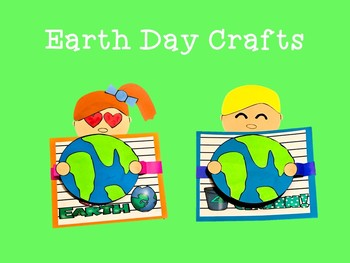 Earth Day Crafts and Writing Activities