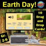 Earth Day   Create a Sentence   Drag and Drop   Distance L