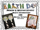 Earth Day Critical Thinking Problem & Solution Activity