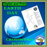 Earth Day Crossword Puzzle - Environmental Science