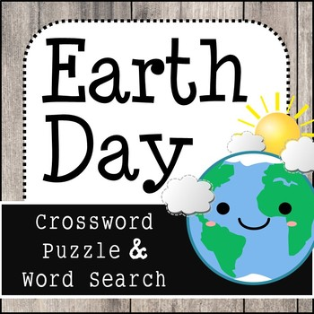 Earth Day - Crossword Puzzle & Word Search