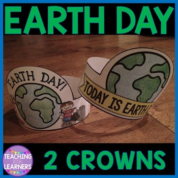 Earth Day Crowns {FREE}