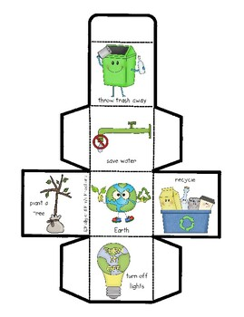 Earth Day Cube Game