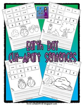 Earth Day Cut Apart Sentences